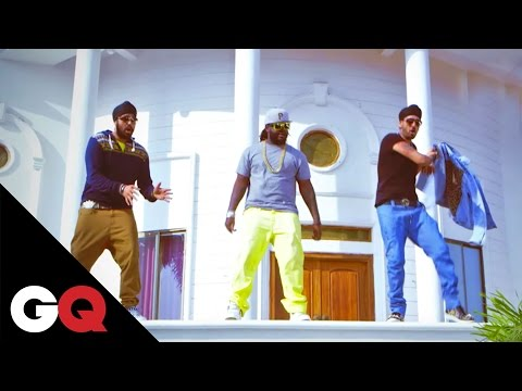 RDB - Daddy Da Cash featuring T-Pain | Exclusive Behind-the-Scenes | GQ India