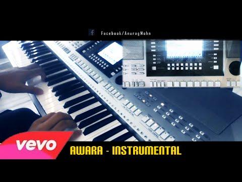'AAWARA' - Instrumental (Anurag Mohn) | Alone | Mithoon | on PSR - S910