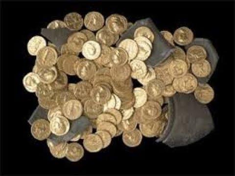 Клад римских золотых монет :: находки кладов.