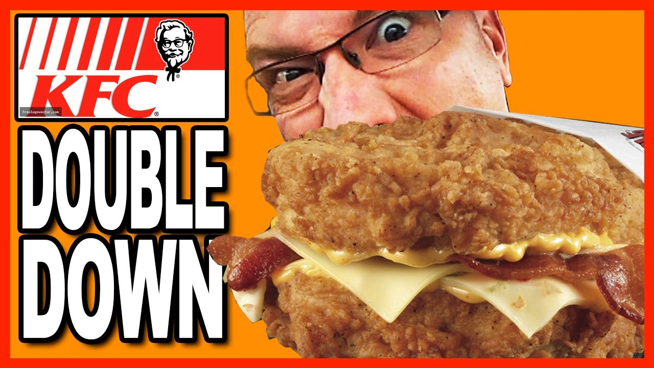 Kfc Double Down Sandwich Experience One Of My First Food Reviews