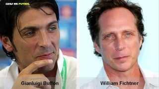 Znani piłkarze podobni do... | Footballer look alikes