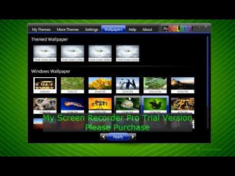 How To Change Wallpapertheme On Windows 7 Starter Youtube