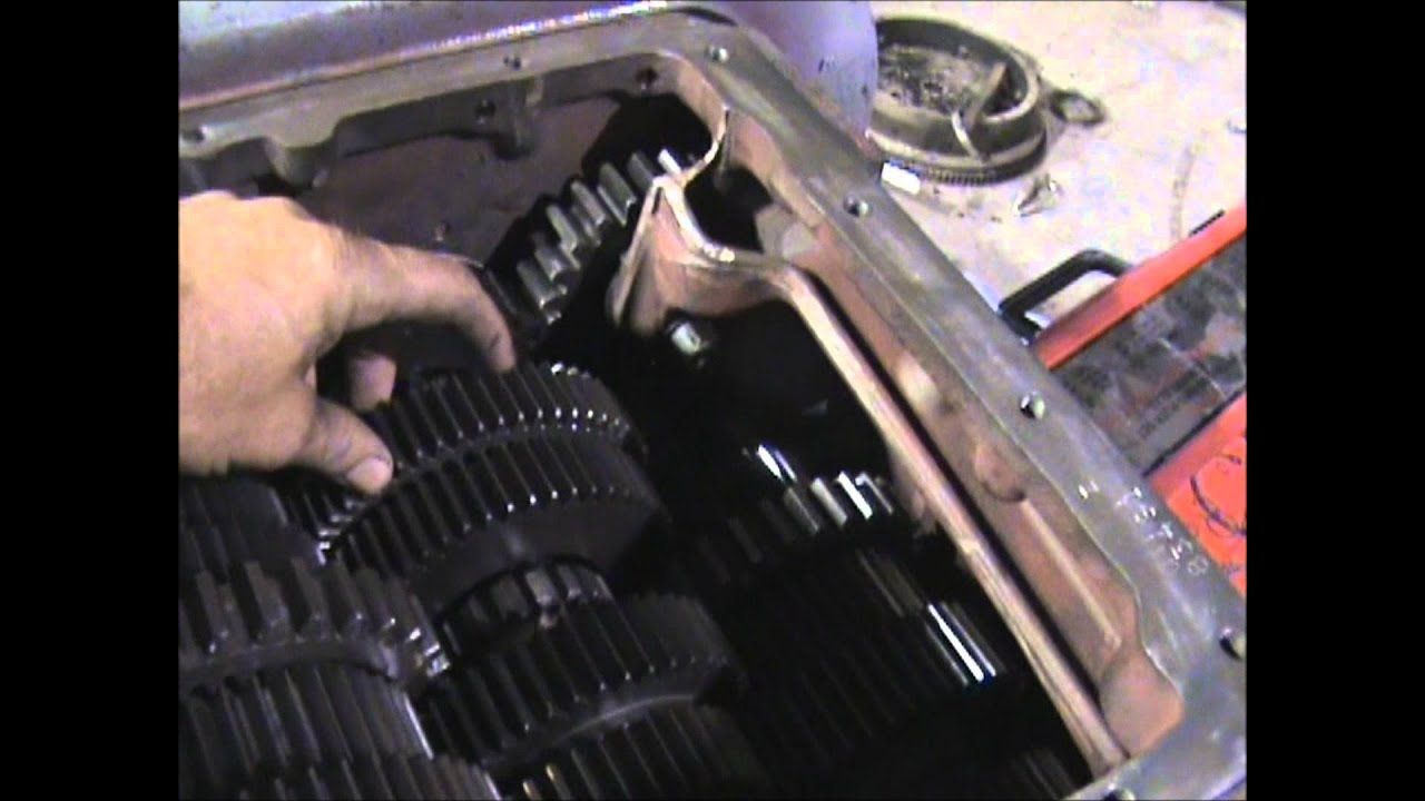 Eaton Fuller 9 Speed Transmission Diagram Of Exterior House Parts Names Another Rto Conversion 6613 Youtube