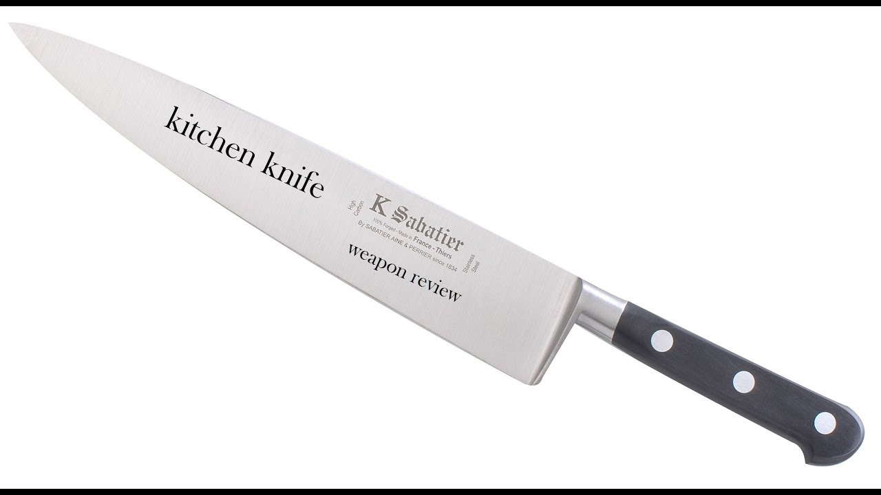 kitchen knife weapon review - YouTube