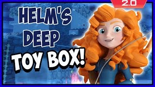 Disney Infinity 2 Toy Box Adventures! Battle Of Helm's Deep