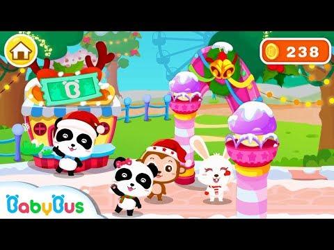 知育ゲームランド-BabyBus クリスマス遊園地ごっこのおすすめ画像1