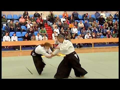 2007 The 5th All-Russian Aikido Aikikai Festival - Miyamoto Tsuruzo, Shihan 宮本鶴蔵