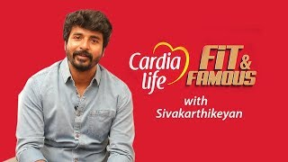 Actor Sivakarthikeyan on Fitness & Food Habits  | Jfw Fit & Famous