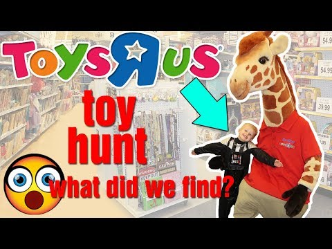 MIDNIGHT Toys R Us Toy Hunt!