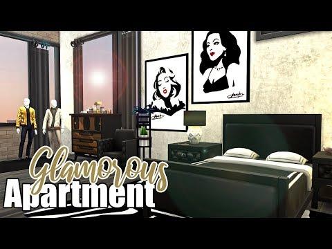 Glamorous Apartment || The Sims 4 Apartment Renovation: Speed Build