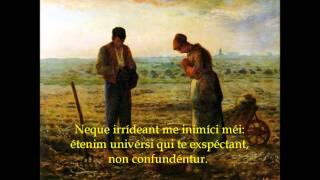 Ad Te Levavi - Catholic Gregorian Chant Psalmody