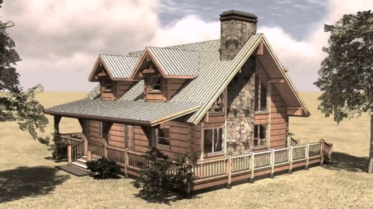 Lovely Lodge Style House Plans With Loft Design