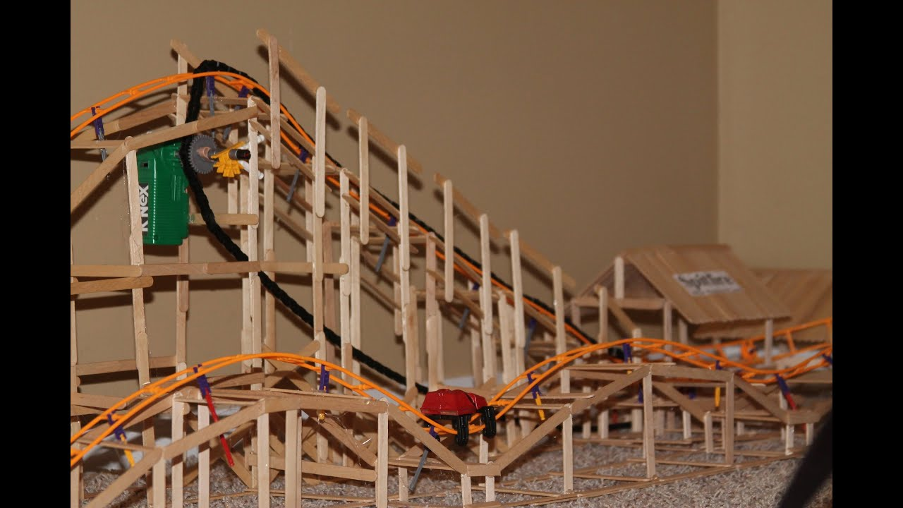 How To Build A Roller Coaster Model With Popsicle Sticks
