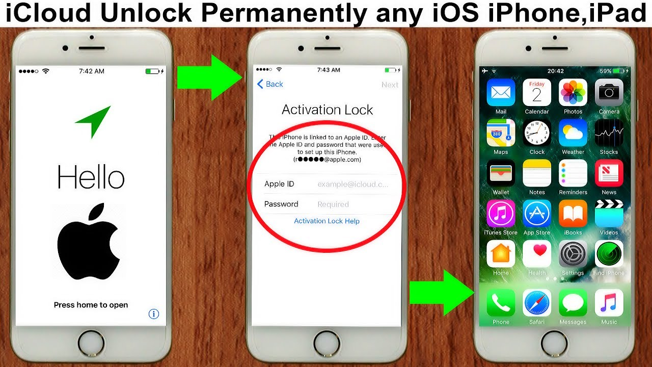how to remove Permanently iCloud Activation Unlock iPhone