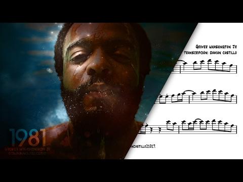 """Just The Two of Us"" - Grover Washington Jr - 🎷Sax Alto transcription🎷"