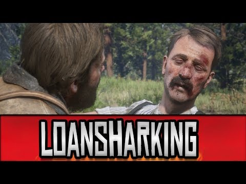 Red Dead Redemption 2 - Learning to Loanshark // Money Lending & Other Sins Quest