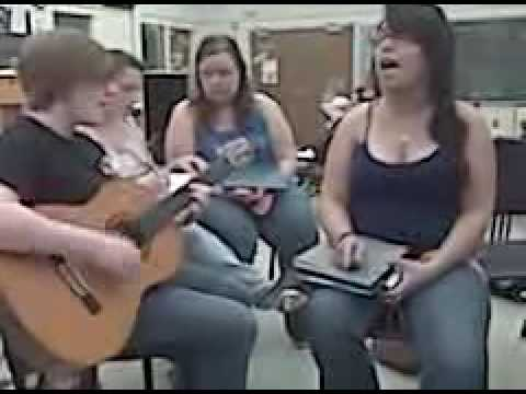 "Emily and Elise singing ""Cardigan Weather"" by Meg and Dia"