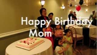 My Mom's Surprise Birthday Party 2012