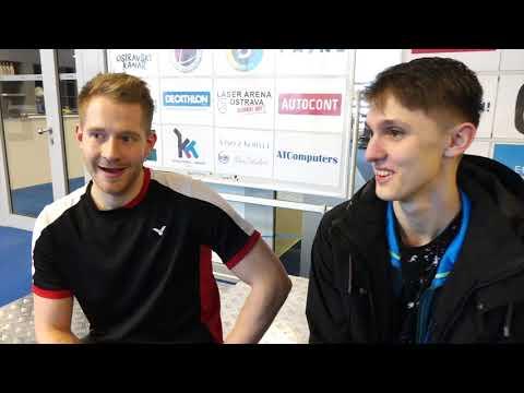 2018-03 Badminton - 7.Ostravský kanár SINGLY A - Rozhovor s Ondřejem Brodou