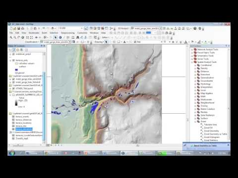 "v46 Using the ""locate features along route"" tool in ArcMap"