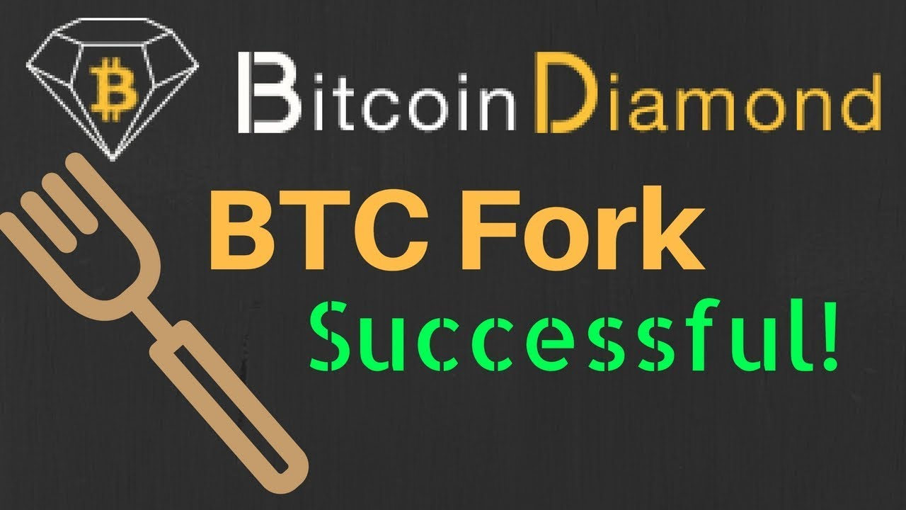 Bitcoin diamond fork successful 10 bcd for every 1 btc youtube bitcoin diamond fork successful 10 bcd for every 1 btc ccuart Images