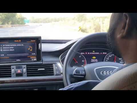 Audi A6 top speed on mumbai pune expressway