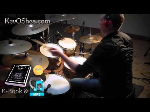 ★ Advanced Drum Lesson ★ Linear Drum Fill | Book Sample