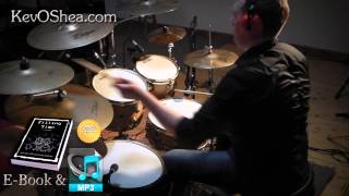 ★ Advanced Drum Lesson ★ Linear Drum Fill | Book Sample