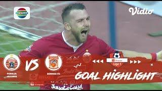 Persija Jakarta (4) vs (2) Borneo FC - Goal Highlights | Shopee Liga 1