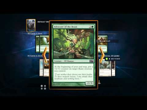Magic 2014 Duels of the Planeswalkers Sealed Campaign Match 1 - Feeling Blue