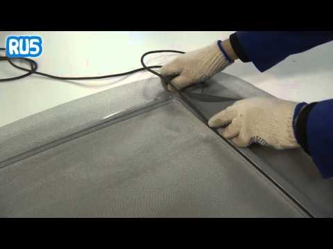 видео: Сборка москитной сетки на окно в домашних условиях