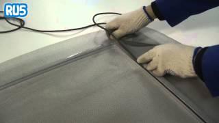Сборка москитной сетки на окно в домашних условиях