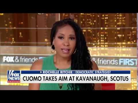 FOX&friends: Rochelle Ritchie Discusses Roe. V. Wade and NY governor plans to sue