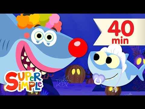 Thumbnail: Baby Shark Halloween | + More Kids Songs for Halloween | Super Simple Songs