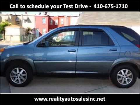 2002 Buick Rendezvous Used Cars Baltimore MD