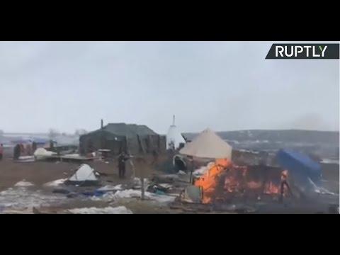 Standing Rock LIVE: Anti-DAPL camp as enforced evacuation deadline reached