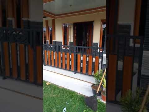 Pagar Rumah Minimalis Motif Kayu Rumah Joglo Limasan Work