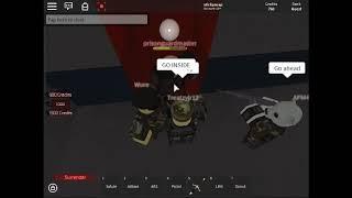 Roblox NCR fängt einen feindlichen Rekruten ein und quält ihn