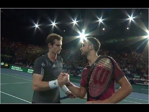 Grigor Dimitrov vs. Andy Murray 3-6, 3-6 BNP Paribas Masters Paris (R16) 30.10.2014.