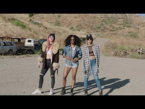 FatBoy Slim  Babes Unite  Laura New, Caity Lotz & Dominique Domingo 90's Inspired Dance Video