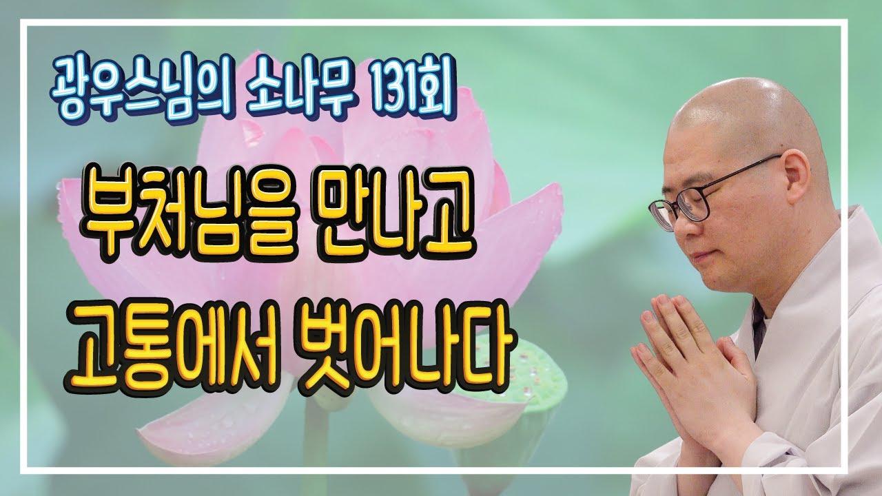 기적 그 자체! 부처님을 만나고 고통에서 벗어나다 | 광우스님의 소나무 131회