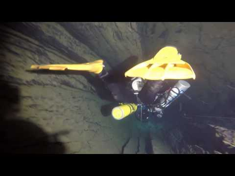 France  Lot CCR diving St Georges cave 2016