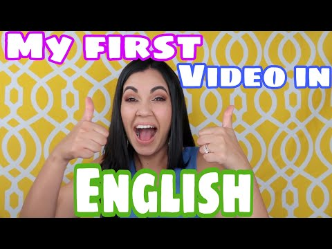 MY FIRST VIDEO IN ENGLISH |Rami Videos
