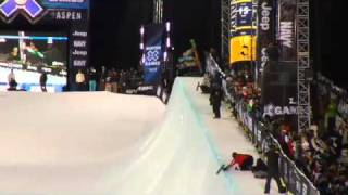 2011 X Games Mens Pipe Finals - TransWorld SNOWboarding