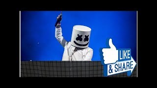 Marshmello pays tribute to lil peep in concert