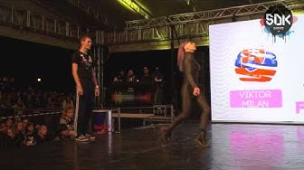 VIKTOR MILAN (Slovakia) vs. IRINA MILAN (Romania) - Vogue Final SDK World Battle Tour 2015