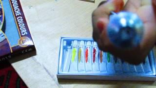 Необычные гуашевые краски в тюбиках/Unusual  gouache paints in tubes