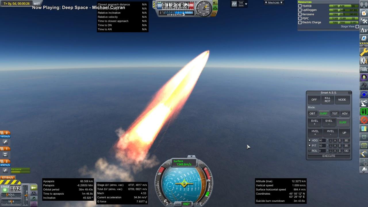 Realism Overhaul in KSP 1.8.1 - Quickest to Earth Orbit Challenge