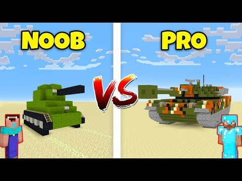 Minecraft NOOB vs. PRO: TANK in Minecraft! AVM SHORTS Animation thumbnail