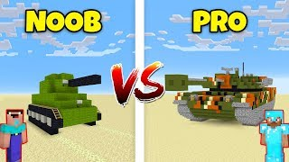 Minecraft NOOB vs. PRO: TANK in Minecraft! AVM SHORTS Animation